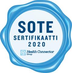 SOTE sertifikaatti 2020 tunnus
