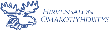 Hirvensalon omakotiyhdistys- logo