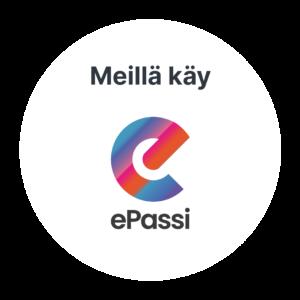 Meillä käy ePassi-logo